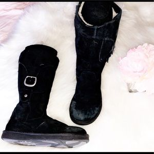 UGG Shoes - UGG Cargo Black Tall Boots